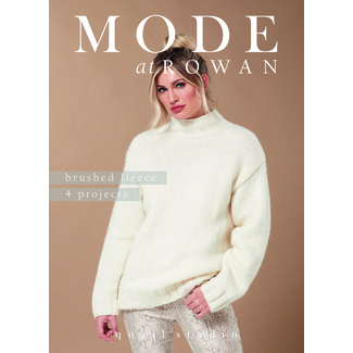 Mode at Rowan - Brushed Fleece - 4 Projekte